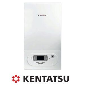 Настенный газовый котел с двумя теплообменниками Kentatsu Nobby Balance 40-2CS для помещений до 400 кв м, со склада в Санкт-Петербурге.