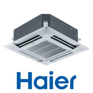 Инверторный Кассетный кондиционер Haier AB48ES1ERA(S) 1U48LS1ERB(S) PB-950JB со склада в Санкт-Петербурге, для площади до 120 м2. Официальный дилер!