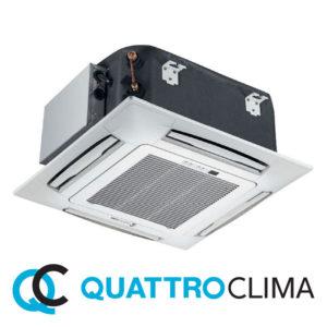 Кассетный кондиционер QuattroClima QV-I12CF QN-I12UF QA-ICP7 со склада в Санкт-Петербурге, для площади до 35 м2. Официальный дилер!