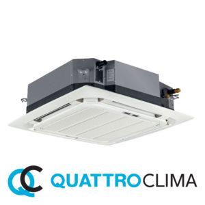 Кассетный кондиционер QuattroClima QV-I48CF QN-I48UF QA-ICP8 со склада в Санкт-Петербурге, для площади до 140 м2. Официальный дилер!