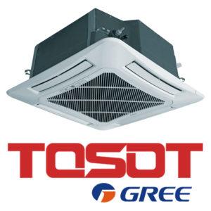 Кассетный кондиционер TOSOT T42H-LC2-I T42H-LU2-O TC04P-LC со склада в Санкт-Петербурге, для площади до 120 м2. Официальный дилер!