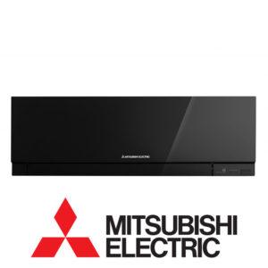 Инверторный настенный внутренний блок мульти сплит-системы Mitsubishi Electric MSZ-EF22VEB со склада в Санкт-Петербурге серия Design Inverter для площади до 22 м2. Бесплатная доставка. Звоните!