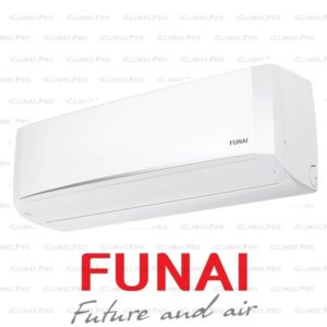 Кондиционер FUNAI RACI-SN25HP.D03 серии Sensei Inverter с установкой со склада в Санкт-Петербурге для площади до 25м2.
